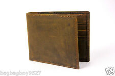 Men's Slim Bifold Wallet Small Front Pocket Thin Credit Card Holders