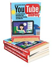 Step-By-Step Blueprint, Become A YouTube Celebrity- eBook and Videos on 1 CD