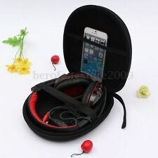 Headphone Earphone Carry Case Bag Pouch for Sony Sennheiser HD201 HD202 HD380