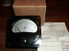RUSSIAN MILITARY Analogue AMMETER - AMPERMETER 0-30A  E8021 NEW BOXED