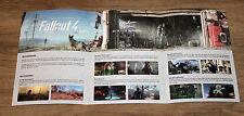 Fallout 4 promo Bogen / Press Exclusive Sheet  Gamescom 2015