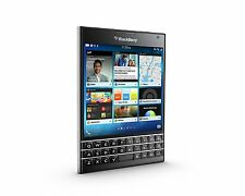 New BlackBerry Passport 32GB Black Color Imported
