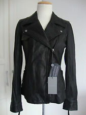 7 FOR ALL MANKIND LEATHER Jacket Damen Lederjacke Bikerstyle Gr.L NEU mit ETIKET