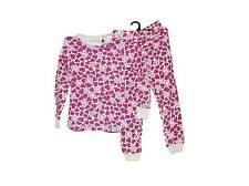 CUDDL DUDS HEARTS THEME LONG JOHNS SET THERMAL UNDERWARE SET SIZE XS 4-5 NWOT