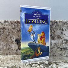 The Lion King Walt Disney Classics VHS Illusion Notebook Disney Parks