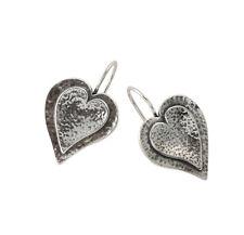 Shablool Women's 925 Silver Earrings Sterling Silver Hoop Fastening 4.7 Gr.