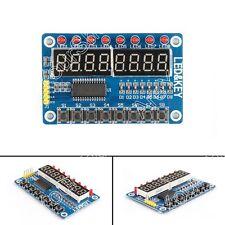 1Pcs 8-Bit LED Digital Tubo 8 Keys TM1638 Display Módulo Para AVR Arduino