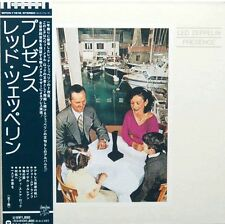 RARE CD IMPORT JAPON PAPER SLEEVE VINYL RÉPLICA + OBI + LED ZEPPELIN / PRESENCE
