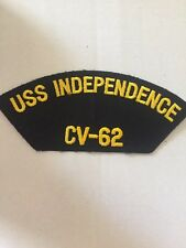 USS Independence CV-62 Military Patch