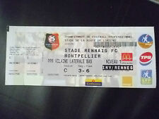 Tickets- 2004 STADE RENNAIS FC v MONTPELLIER, 23 May, Football Championship