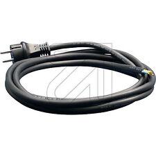 Kabel, Anschlußkabel, Netzleitung H05-RN-F 2x1,0mm²;  5,0m, Geräteanschluss