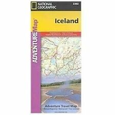National Geographic Adventure Map: Iceland 3302 by National Geographic Maps...