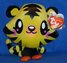 TY BEANIE BABIES -  JEEPERS TIGER CUB MOSHI MONSTER - UK EXCLUSIVE - MINT TAGS