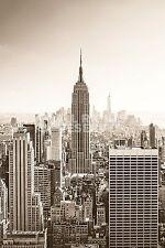 (LAMINATED) NEW YORK AT DAWN POSTER (61x91cm)  NEW WALL ART