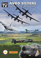 Avro Sisters - 2014 Airshows (New DVD) Aircraft Aviation Vulcan Lancaster x 3