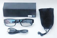 HD video brille cam 5Mega Pixel 1080P versteck kamera Spy glass 2-32 Micro SD