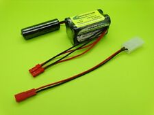 6V 2500ma BATTERY  FITS HPI SAVAGE BATTERY BOX / 2505S / MADE IN USA