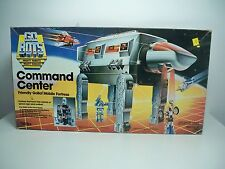 D1001946 COMMAND CENTER FORTRESS GOBOTS COMPLETE MINTY MIB STYLE TONKA 1985