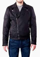 NWT 7 FOR ALL MANKIND MENS SzL MOTO ZIP JACKET IN BACK