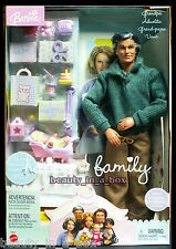 Grandpa Happy Family Barbie Ken Doll Grandfather Grandparent NRFB