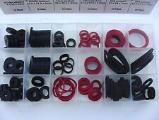 142 Pc Automotive Marine Fiber Rubber EVA Foam Sealing Washers Assortment Kit