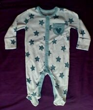 Mickey Mouse Long Sleeve Baby Sleep Suit- Size 0-3 Months