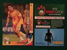 EURO 2008 CARD n 158 ROMANIA DICA , Figurina Panini NEW