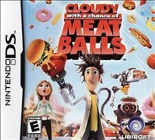Cloudy With a Chance of Meatballs complete in case w/ manual Nintendo DS, 2009)