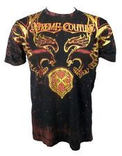 Xtreme Couture Herren 'Dragon Schild' T-Shirt schwarz (XCTS029)