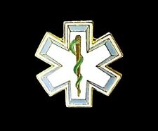 Star Of Life Lapel Pin Badge Cap Tack EMT EMS Medical Rescue New