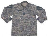 New Mens US Army Style ACU FIELD RIPSTOP Jacket AT - DIGITAL CAMO