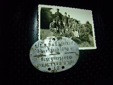 RARE Original German relic - Dog Tag - Wehrmacht troops Obertraubling token