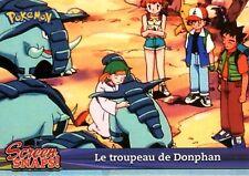 POKEMON Carte TOPPS NEUVE N° SNAPS 09 LE TROUPEAU DE DONPHAN
