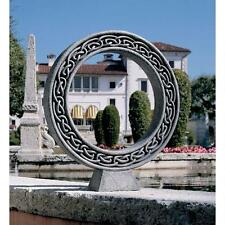 Celtic Knot Eternal Divine Love Circle Sculpture Garden Statue