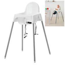 IKEA ANTILOP Trona bebé niño Silla alta con correas bebe Desmontable