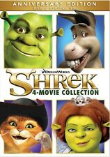 Shrek: The Whole Story Quadrilogy (DVD,2010)