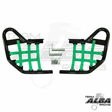 Yamaha Raptor 660  YFM660  Nerf Bars   Alba Racing  Black Green 203 T1 BG