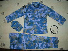 15's China PLA Hong Kong Navy Soldier Digital Camo Combat Clothing,Set,Summer.