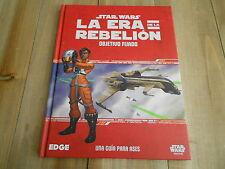 STAR WARS LA ERA DE LA REBELION - Objetivo Fijado - juego de rol - EDGE - FF