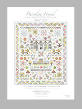 *NEW DESIGN* COUNTED CROSS STITCH SAMPLER KIT 'PARADISE FOUND' Riverdrift House