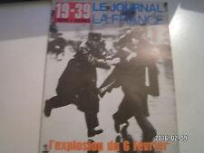 ** 19-39 Le journal de la France n°94 L'explosion du 6 février / Le Normandie