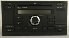 Ford Autoradio Single CD 6000 mit CODE Focus Mondeo MK3 Fiesta Transit Galaxy