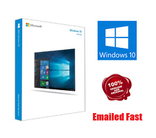 WINDOWS 10 HOME 32 /64BIT COA GENUINE LICENSE KEY DIGITAL DOWNLOAD