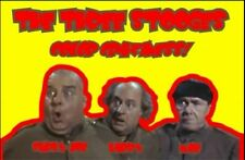 """The Three Stooges - """"Color Craziness"""" Old Classic Public Domain Film 1965 DVD-R"""