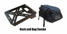 WRP MotorCycle Rear Cargo Rack/Bag Combo Kawasaki KLR 250