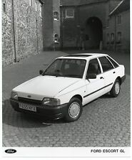 FORD ESCORT GL Press Release FOTOGRAFIA ORIGINALE 1988