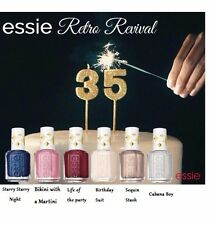 Essie Retro Revival Collection Spring 2016 Nail Polish Set of 6 Colors