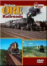 Vintage Ore Railroads DVD NEW C.vision DM&IR  C&NW Milwaukee Road Steam Diesel