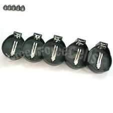 5 pcs Battery Button Coin Cell Socket Holder Case For LIR CR2032 CR2025