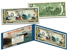 1912 RMS TITANIC Whitestar *100 th Anniversary $ 2 BILL-COLORIZED 2 DOLLAR NOTE